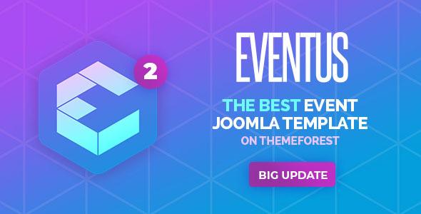Eventus - responsywny szablon Joomla wydarzenia