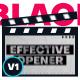 Black White Promo - For Youtube Opener/ Event Showreel/ Sport Promo - VideoHive Item for Sale