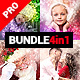 4in1 Bundle - Presentum - Photoshop Actions - GraphicRiver Item for Sale