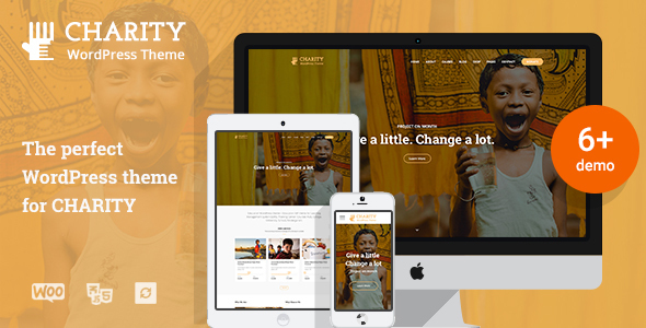 Charitix | Nonprofit Charity WordPress Theme