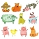 Cute Animals - GraphicRiver Item for Sale