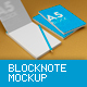 A4 - A5 Block Note Mock-Up - GraphicRiver Item for Sale