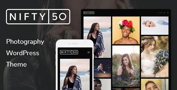 WordPress Photography Theme - Nifty Fifty
