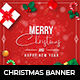 Christmas Facebook and Instagram Banner - GraphicRiver Item for Sale