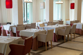 restaurant in a luxury hotel is ready to receive guests - PhotoDune Item for Sale