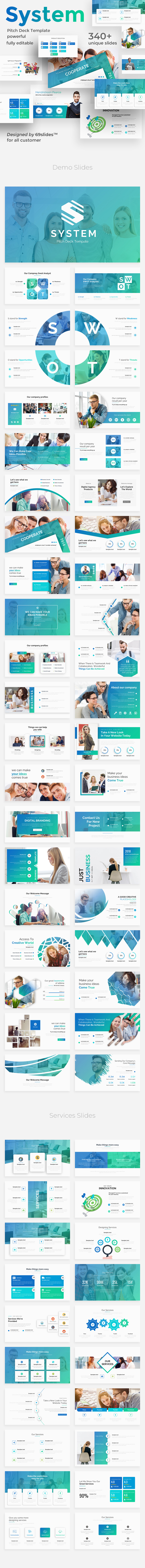 System Thinking Pitch Deck Powerpoint Template