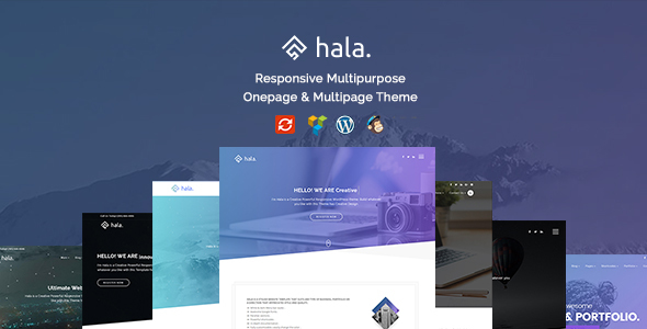 Hala - Creative Multi-Purpose WordPress Theme