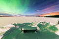 Intense display of Northern Lights Aurora borealis - PhotoDune Item for Sale