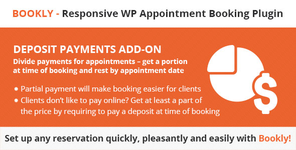 Bookly Deposit Payments addon,bookly service extras add-on,bookly special days addon,bookly recurring appointments,bookly service schedule (add-on)