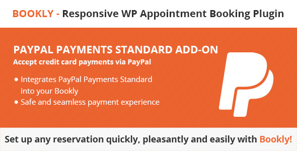 Bookly PayPal Payments Standard (Add-on) Download