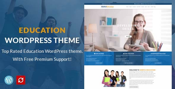 Education WordPress Theme - Education WP