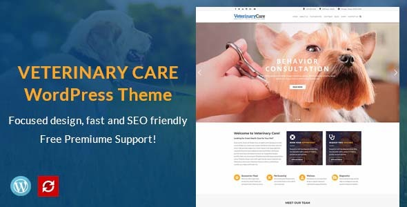 VetBox - Veterinary & Pet Care WordPress Theme