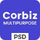 Corbiz - Multipurpose Business Consulting PSD Template - ThemeForest Item for Sale