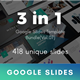 3 in 1 Multipurpose Google Slides Template Bundle (Vol.07) - GraphicRiver Item for Sale
