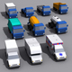 Low Poly Cars Pack 1 - 3DOcean Item for Sale