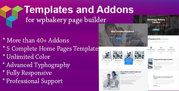 Templates and Addons for WPBakery Page Builder