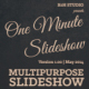 One Minute Slideshow - VideoHive Item for Sale