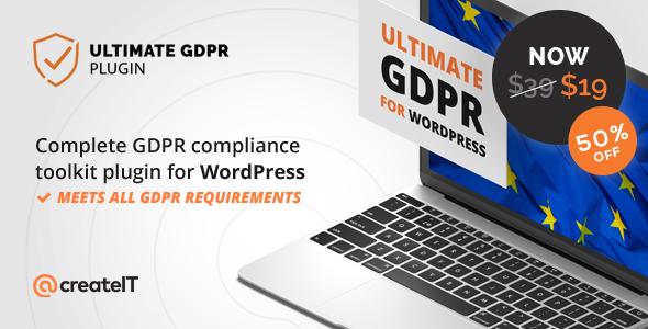 Ultimate GDPR Compliance Toolkit for WordPress - Wordpress plugins - Hire Wordpress Freelancers from FreelancerCV.com