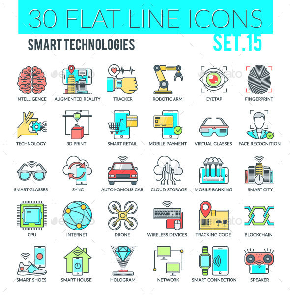 Smart Technologies Icons