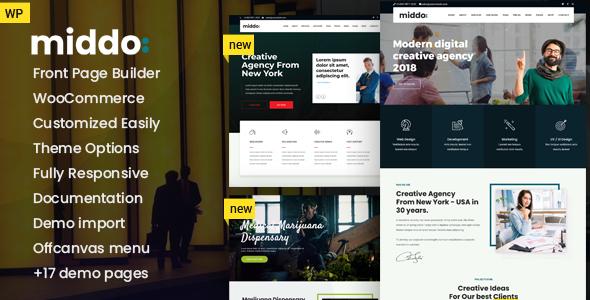 Middo - Modern & Clean Multiporpose WordPress Theme