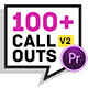 Big Pack Call-Outs | Premiere Pro Mogrt - VideoHive Item for Sale