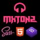 MxTonz - A Fresh Band, DJ & Music Studio Template - ThemeForest Item for Sale