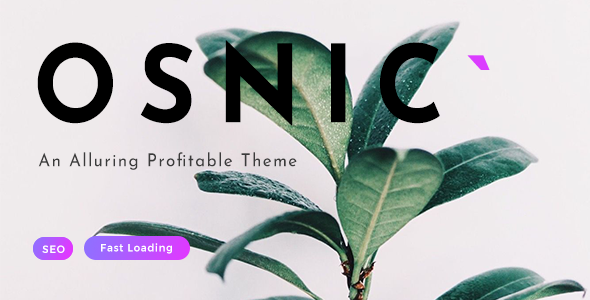 Osnic - AD Optimized Blog/Magazine Theme for Adsense & Affiliate