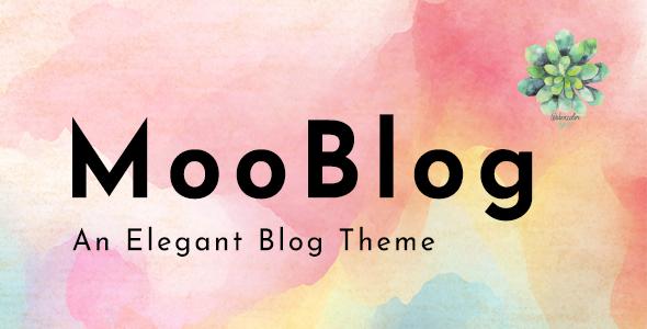MooBlog -  Elegant Blog