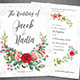 Floral Wedding Invite - GraphicRiver Item for Sale