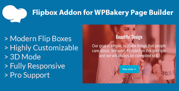 Flipbox Addon for WPBakery Page Builder (formerly Visual Composer)