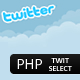 PHP TwitSelect - CodeCanyon Item for Sale