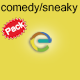 Comedy Sneaky & Detective Pack