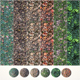 6 Seamless Leaf Material Textures - 3DOcean Item for Sale