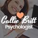 Callie Britt | Family Counselling Psychology WordPress Theme - ThemeForest Item for Sale