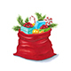 Santa Sack - GraphicRiver Item for Sale