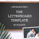 Letter Board Flat Lay Kit - VideoHive Item for Sale