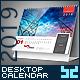 Premium Desktop Calendar - GraphicRiver Item for Sale