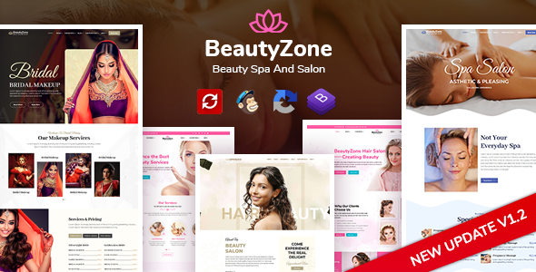 BeautyZone: Beauty Spa Salon HTML Template
