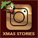 10 Instagram Christmas Stories - VideoHive Item for Sale