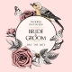 Vector Wedding Invitation with Hand Drawn Roses - GraphicRiver Item for Sale
