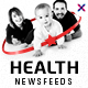 Health Social Media Banner Set - 10 Designs  - 20 Banners - GraphicRiver Item for Sale