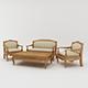 Javanese Sofa Set - 3DOcean Item for Sale
