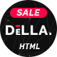 Della - One Page Joomla Template for Digital Agency - ThemeForest Item for Sale