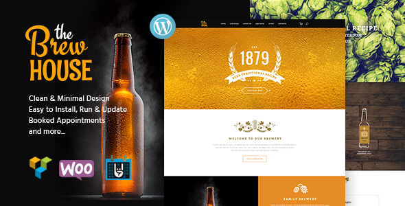 BrewHouse | Brewery / Pub / Restaurant WordPress Theme