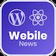 Webile News - React Native mobile app for Wordpress - CodeCanyon Item for Sale