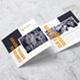 Square Corporate Annual Tri-Fold - GraphicRiver Item for Sale