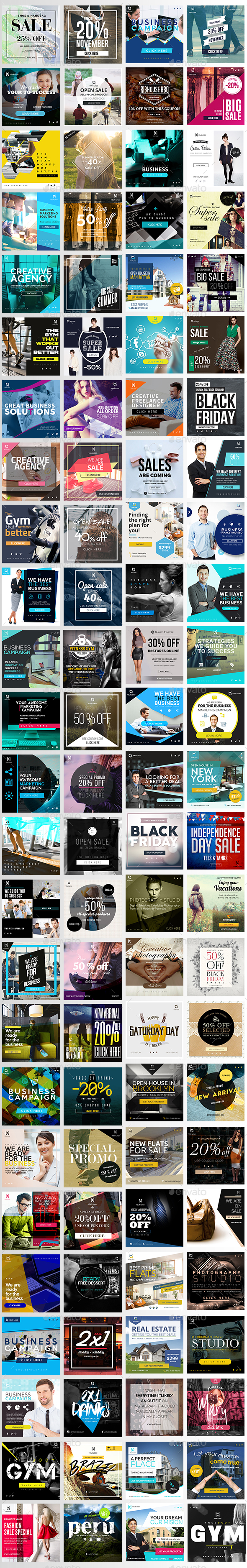 Promotion Web Elements from GraphicRiver