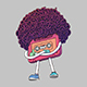 Pink Compact Cassette Tape Character - GraphicRiver Item for Sale