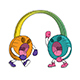 Headphones on Loud Volume - GraphicRiver Item for Sale