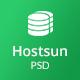Hostsun - Web Hosting PSD Tmeplate - ThemeForest Item for Sale